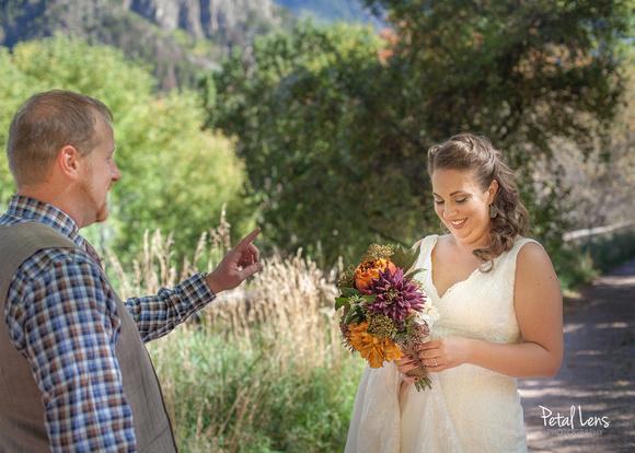 Mitten Meets a Mountain Wedding